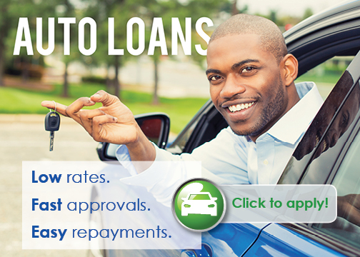 Click on the image to apply for an Auto Loan today!